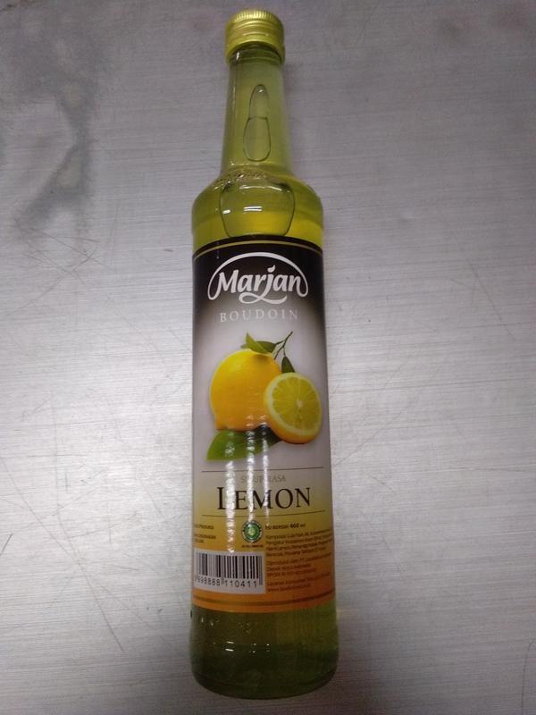 harga Marjan syrup lemon 460ml Tokopedia.com