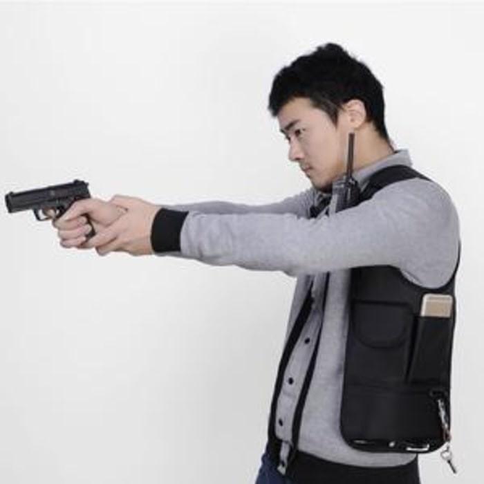 Tas gadget pundak bahu army polisi FBI agen 007 bag org Berkualitas