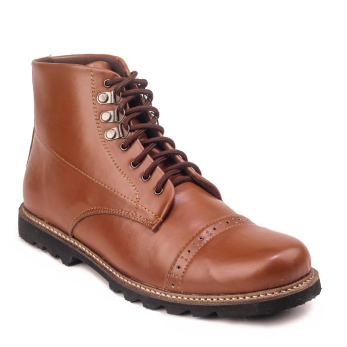 Jual Sepatu Boots Pria Giant Flames Erdogan Brown - Waroeng Sepatu23 ... 97651697a2