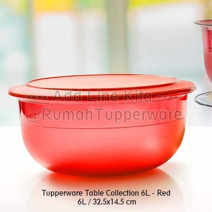 harga Tupperware Table Collection 6l (activity) Tokopedia.com