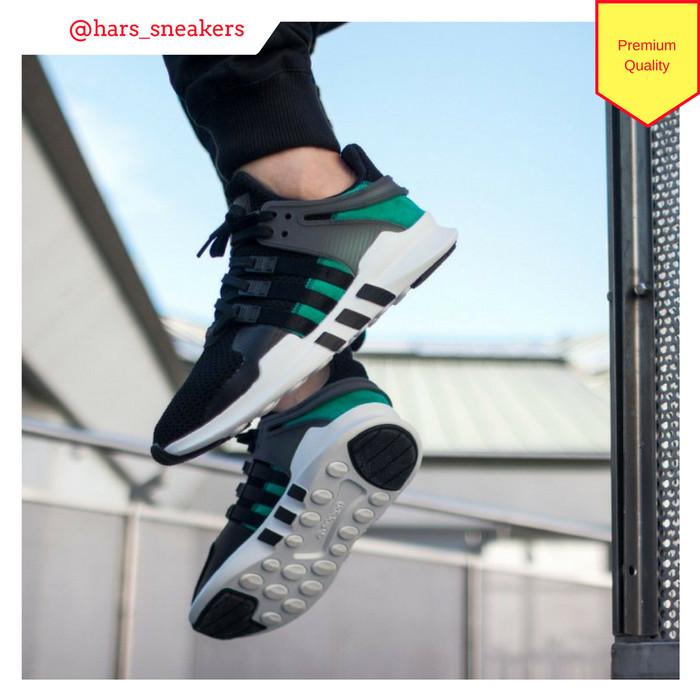 size 40 76458 7605d Jual Sepatu Adidas Equipment Adv Black Green White   Premium Original -  Jakarta Barat - HarsoyoEko Store   Tokopedia