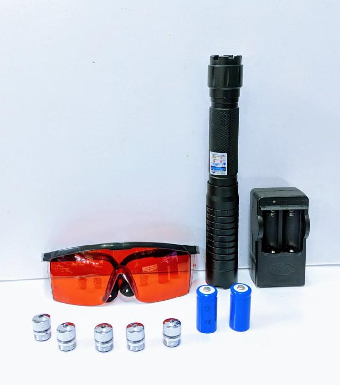 harga Blue laser b009 laser pointer bakar sinar biru box koper aluminum Tokopedia.com