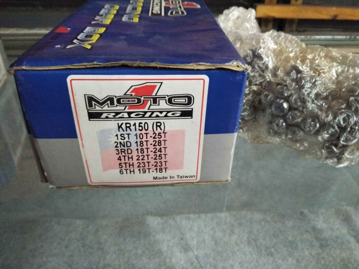 harga Gigi ratio gear rasio gearbox ninja 2 tak 10t 25t merk moto 1 close ra Tokopedia.com