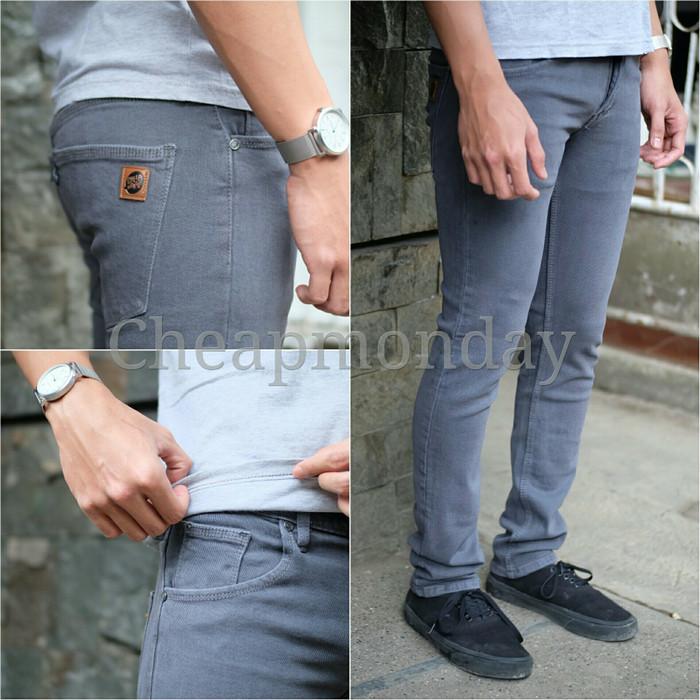 harga Celana jeans cheap monday grey Tokopedia.com