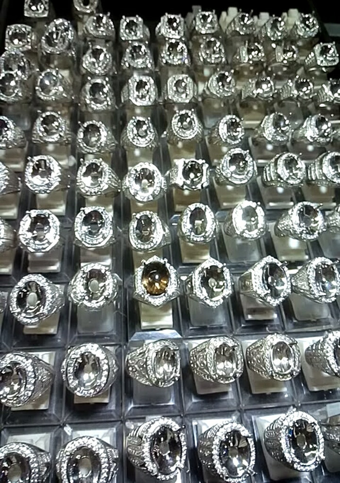 harga Ring cincin alpaka super - cincin batu permata - cincin perak alpaka Tokopedia.com