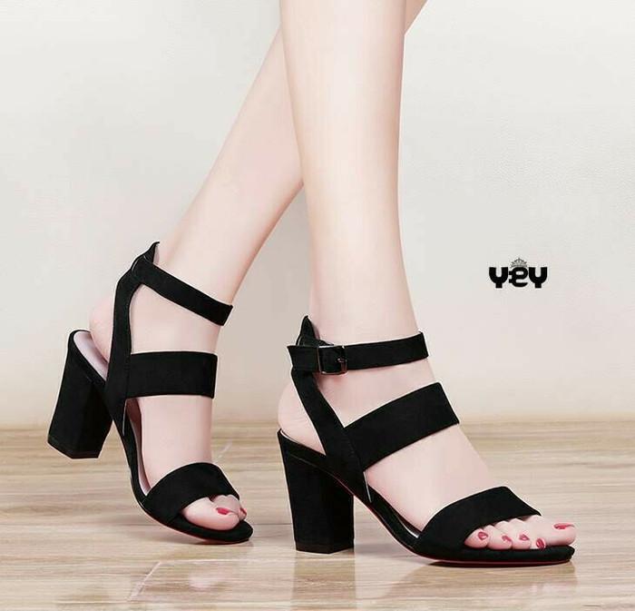 241451d8ed0 Jual Sepatu sandal wanita heel  heels formal cewek Murah model ...