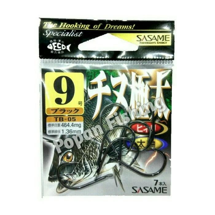harga Mata kail sasame tb-05 size 2-9 tanpa ring Tokopedia.com