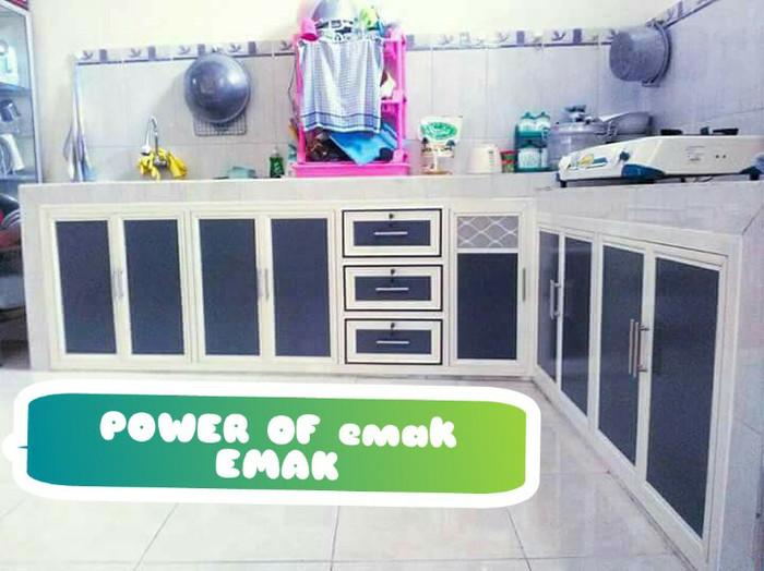 Jual Kitchen Set Aluminium Kota Surabaya Setia Hati Aluminium Tokopedia
