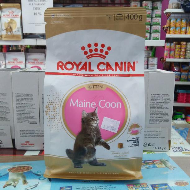 Royal Canin Maine Coon kitten 400gr. freshpack