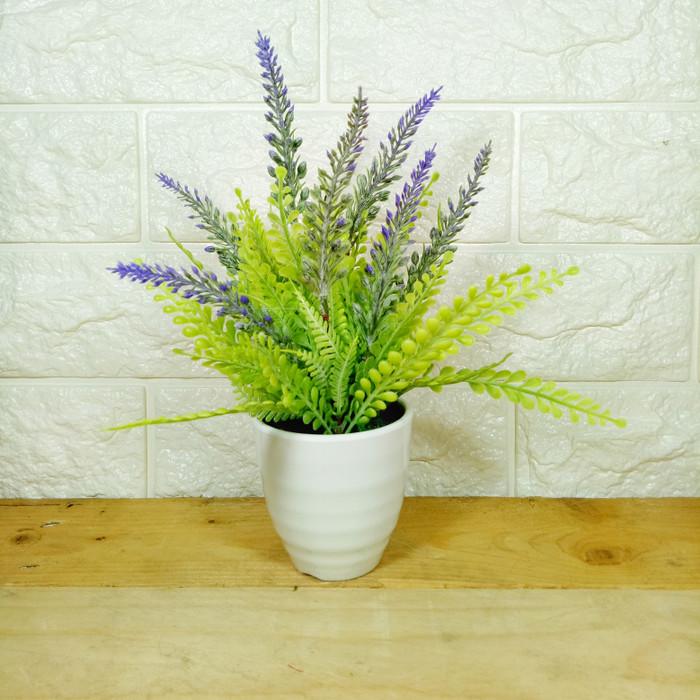 harga Rumput bunga lavender plastik artificial palsu dekorasi rumah shabby  Tokopedia com . 56122e6775