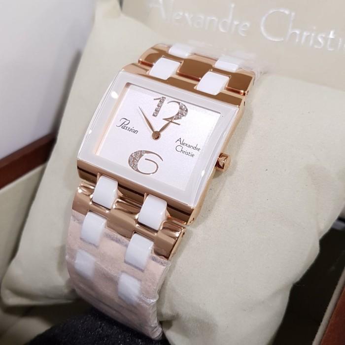 Jual Jam tangan Alexandre christie AC 2182 Ceramic Combination ... 5276e1d65e