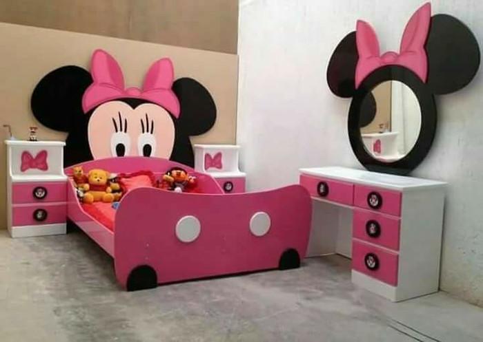 Jual Set Kamar Anak Mickey Mouse Jepara Produk Kab Jepara Noval Mebel Furniture Tokopedia