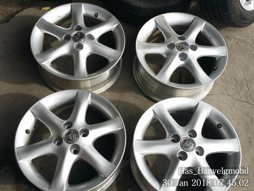 Jual Velg Original Oem Copotan Toyota Corolla Altis Ring 15 Pcd 100 Hole 4 Kota Surabaya Has Ban Velg Tokopedia