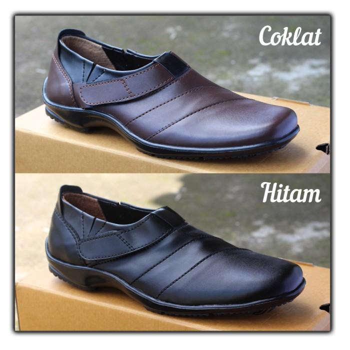harga Sepatu slip on pria casual formal kerja santai pantofel ocean midas Tokopedia.com