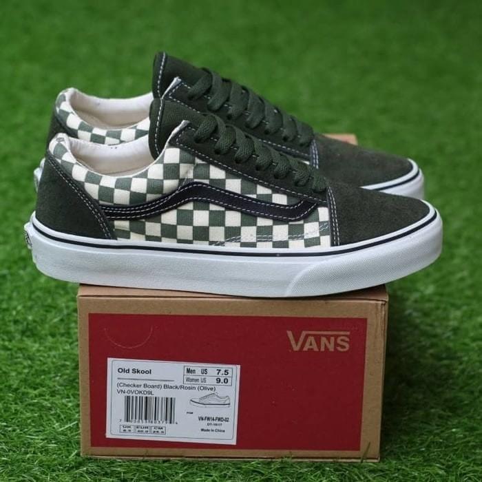 Promo Sepatu Vans Slip On Checkerboard Catur Slipon Stockholm Black ... af04e31a6d