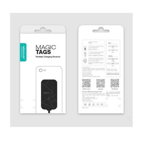 Nillkin Magic Tags Wireless Charging Receiver Lightning(4.7inch)-Hitam