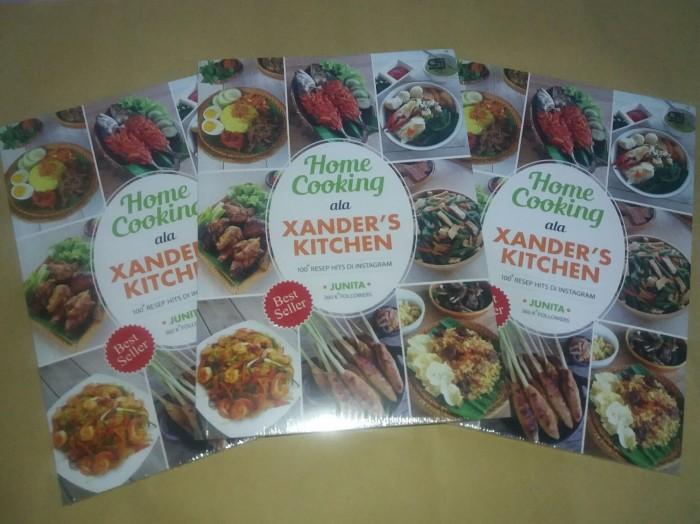 harga Buku Home Cooking Ala Xander's Kitchen Junita Tokopedia.com