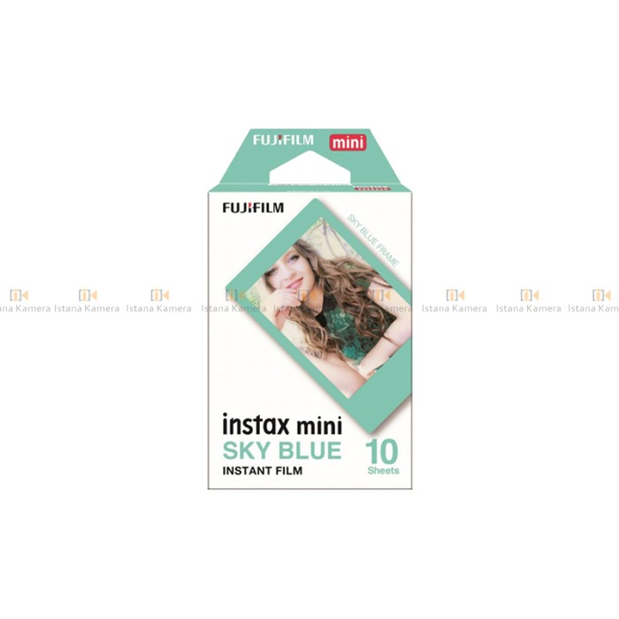 harga Fujifilm refill instax mini sky blue paper instant film ( 10 sheet ) Tokopedia.com