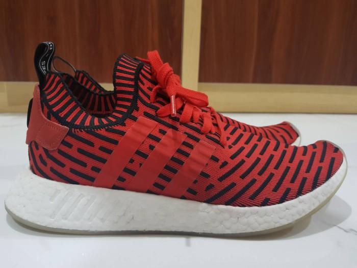 sneakers for cheap f5325 19726 Jual adidas NMD R2 Primeknit Red Black - DKI Jakarta - LuckyCatSupply |  Tokopedia