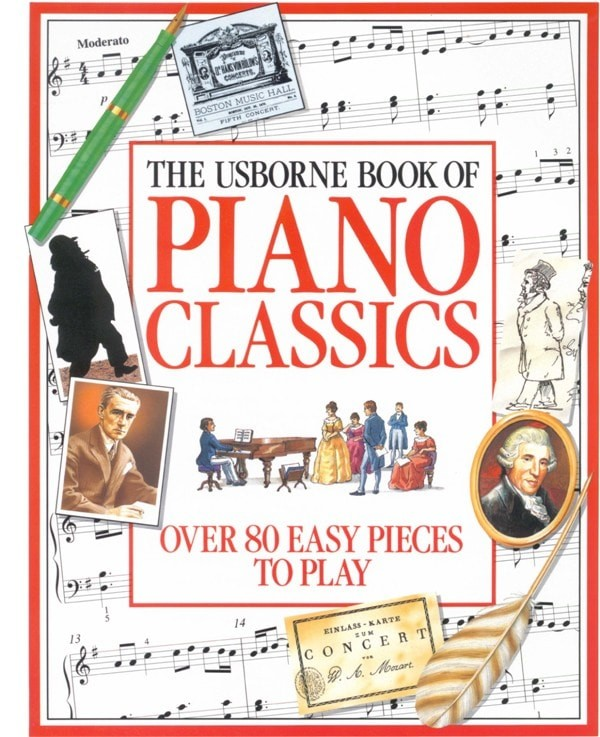 harga Buku piano classics over 80 easy pieces Tokopedia.com