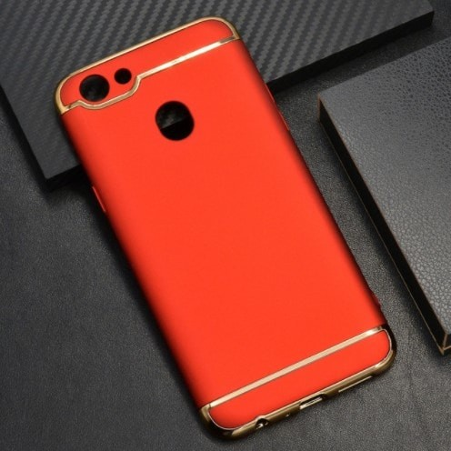 harga Casing hp oppo f5 r11s 3 in 1 protection case red merah Tokopedia.com