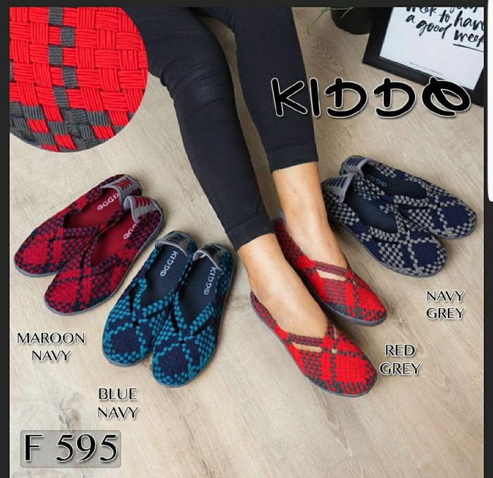 Foto Produk kiddo f595 sepatu anyaman rajut wanita ORI dari GalaxyShoes-JKT