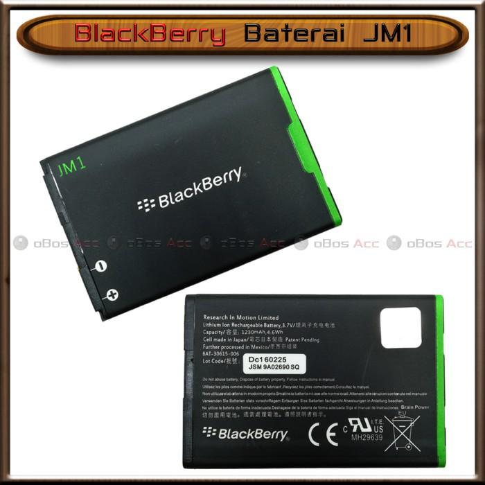 ... harga Baterai bb blackberry dakota 9900 montana 9930 jm1 original batre Tokopedia.com