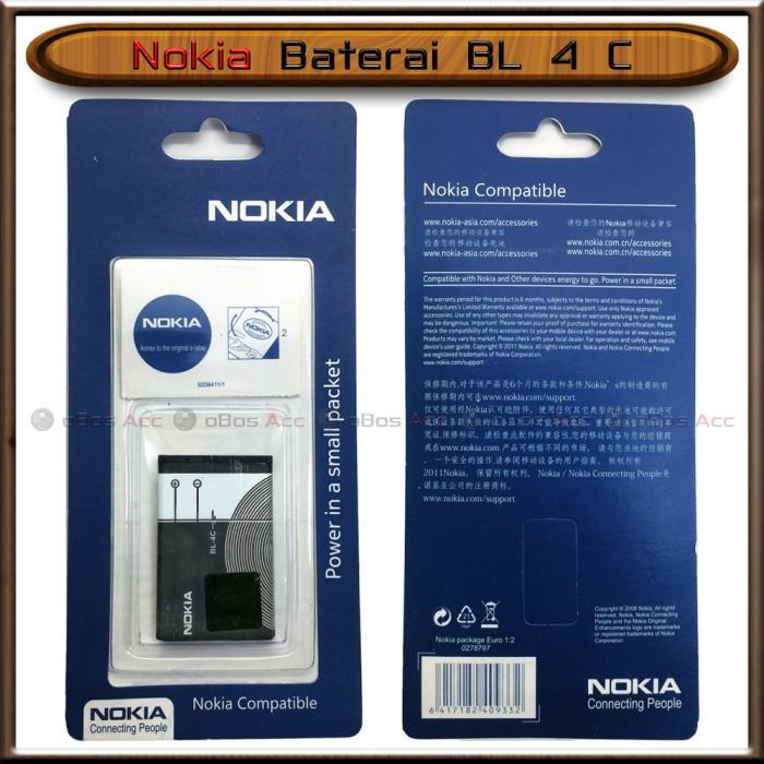 harga Baterai nokia 7200 7270 c2-05 c5-03 x2-00 bl4c bl-4c ori batre batrai Tokopedia.com