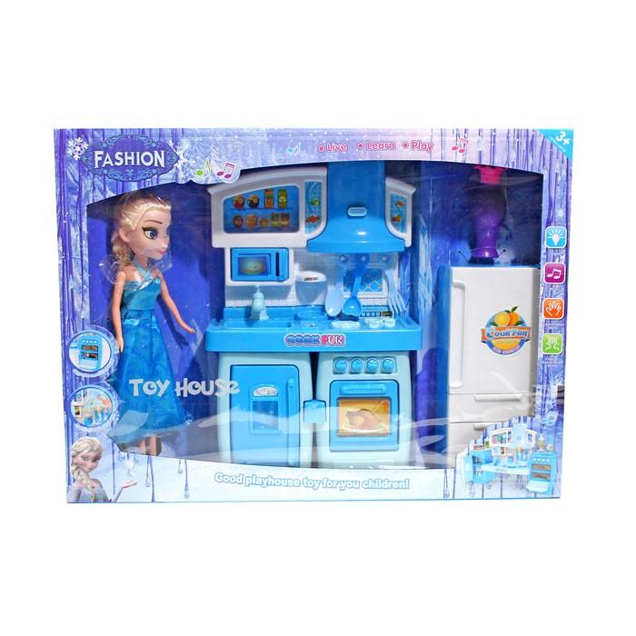 Jual Cook Fun Kitchen Frozen With Doll Besar Sy203075 Mainan Masak Masakan Jakarta Selatan Mainan Edukasi Online Tokopedia