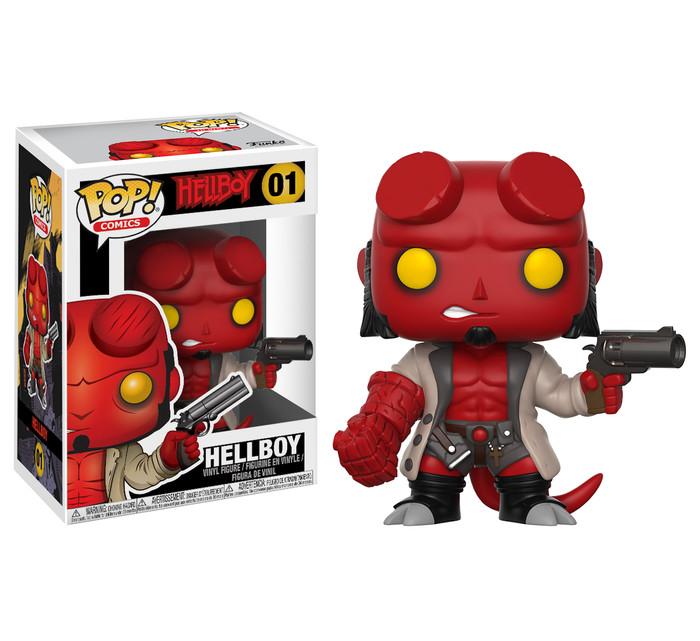 Funko pop! comics hellboy - hellboy 01