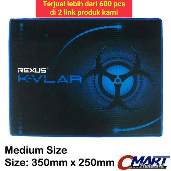 Foto Produk Rexus Decorpus Gaming Mousepad 350x250 medium size dari CMart Computer