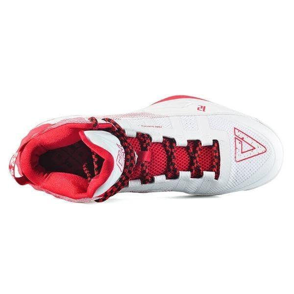 518e4de778dc Jual PEAK DWIGHT HOWARD 1st Basketball Shoes-White Red Sepatu Basket ...