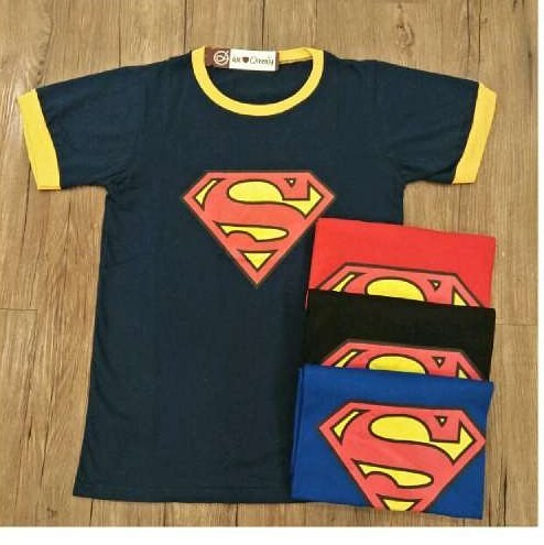 harga 5195 kaos logo superman kaos oreenjy murah kaos superhero wanita Tokopedia.com