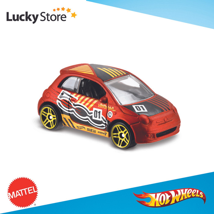 harga Fiat 500 jingga / orange satin - hw hotwheels hot wheels (a 2018) Tokopedia.com