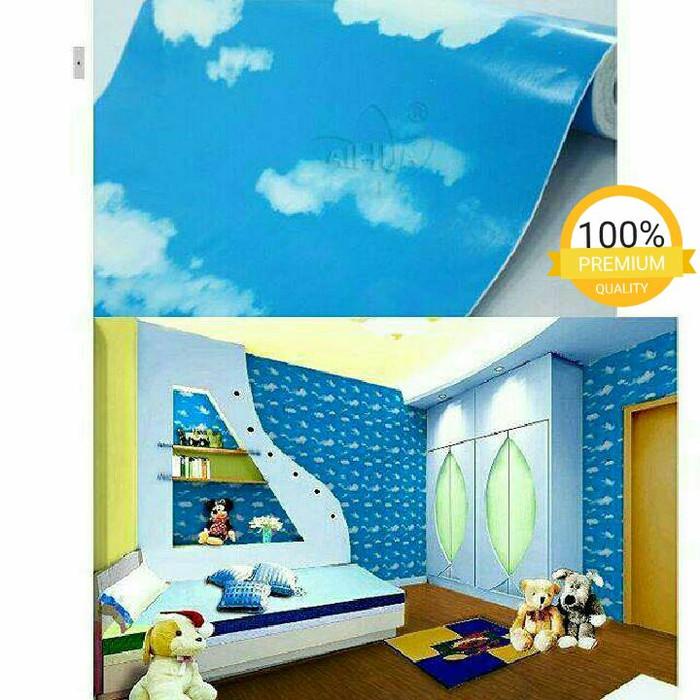 Walpaper Sticker Dinding Awan Biru Tua Sedia Wall Sticker Stiker Dinding 3d Kamar Tidur Aesthetic Polos Wallpaper Karakter Ruang Tamu Anime Tulisan Bunga Harga Promo Spesial Terbatas Lazada Indonesia