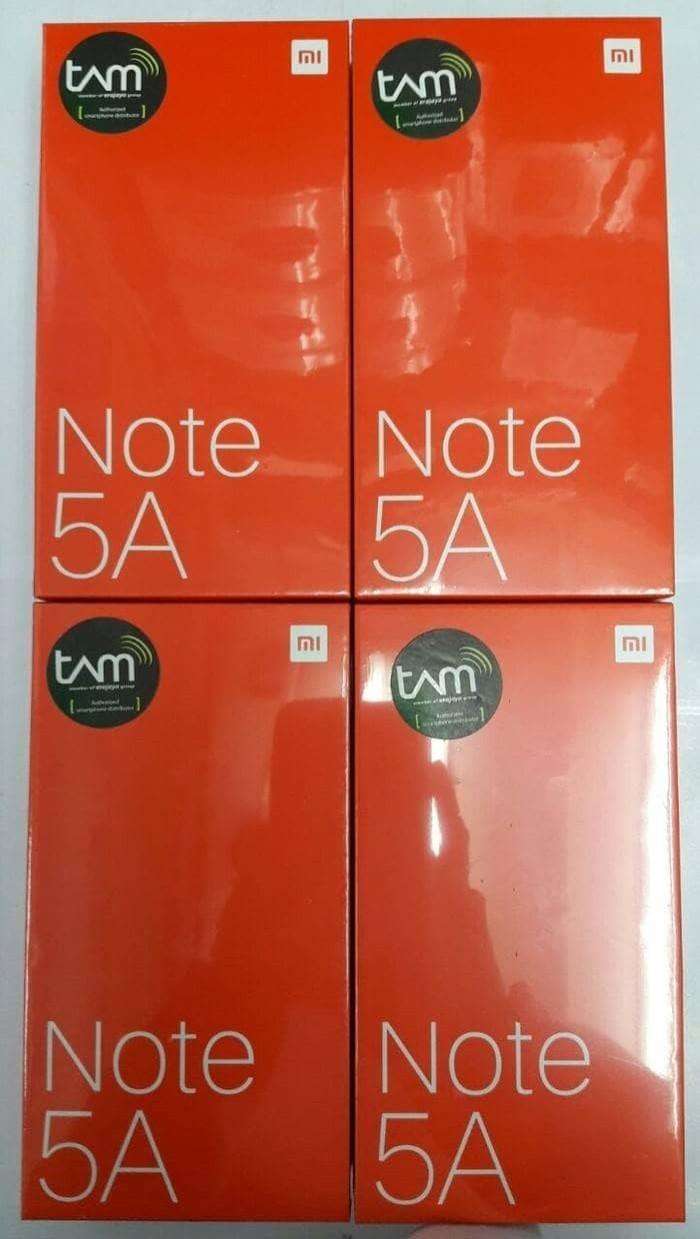 harga Hp xiomi note 5a tam (xiaomi mi5 a ram 2/16gb) grs resmi tam - gold Tokopedia.com