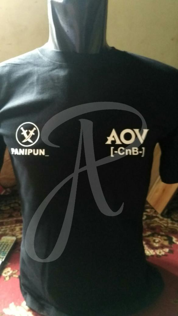 Jual kaos aov,arena of valor,20s,kaos moba premium,req name,guild,kota -  DKI Jakarta - angin distro | Tokopedia