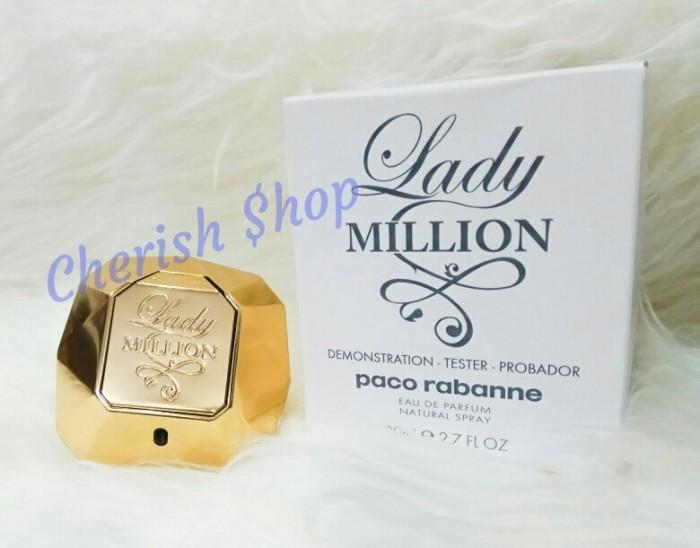 Jual Parfum Original Tester Paco Rabanne 1 Million Edp 80ml for Women Kota Batam Cherish $hop | Tokopedia