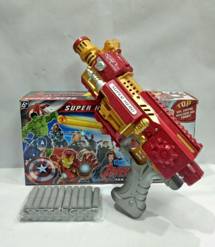 Jual mainan nerf zombie strike crosscut 4 peluru b3482 orig