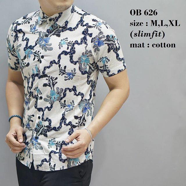 Wan Sarung Pria Trendi Motif 5 Silky Touch Coklat Muda Page 4 Source · Kemeja Batik