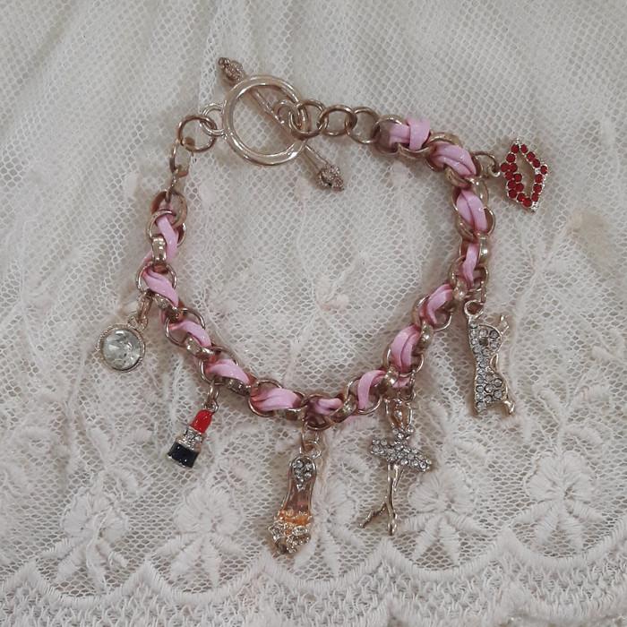 Gelang Ballet Ballerina Chains - Emas