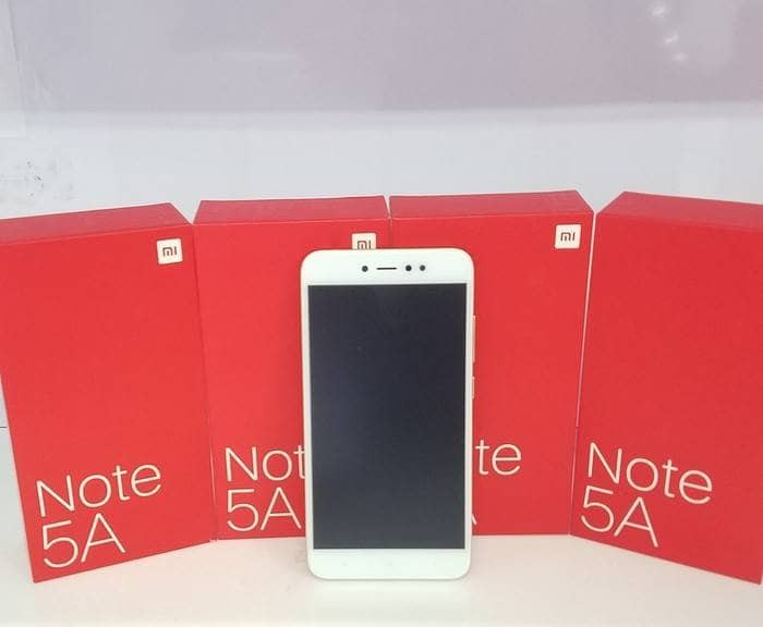 harga Xiaomi redmi note 5a ram 2gb internal 16gb - xiomi mi 5 a - gold Tokopedia.com