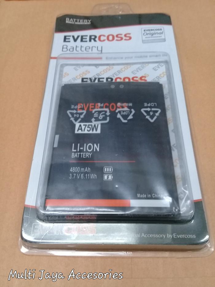 harga Baterai evercoss a75w/double power/battrey/batrai/batre hp/ori Tokopedia.com