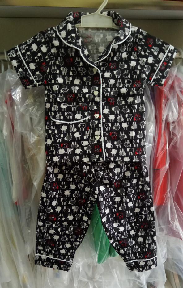 harga Baju tidur anak laki perempuan import branded piyama sheep black kid Tokopedia.com