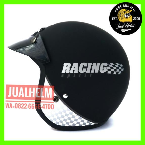 Helm Retro/Helm Classic/Helm Bogo/Helm Vespa/Helm Ava Motif Racing 2