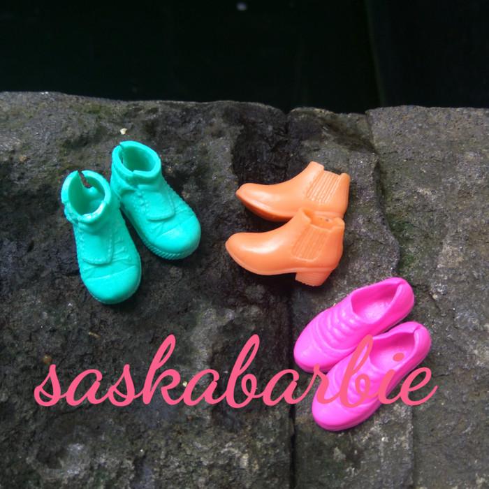 harga Set sepatu barbie (3pairs) / barbie doll / boneka / original mattel Tokopedia.com
