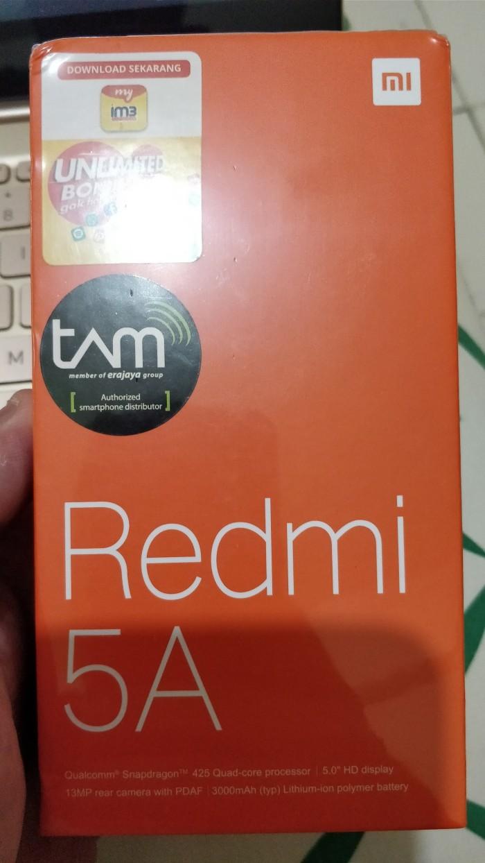 Jual Xiaomi Redmi 5a Grey Garansi Tam 2 16 Goldenboyrb Tokopedia