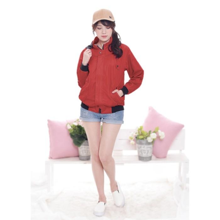 ... harga Agnez jaket topi   hoodie jacket wanita fashion berkualitas  okechuku Tokopedia.com a25a9f90c8