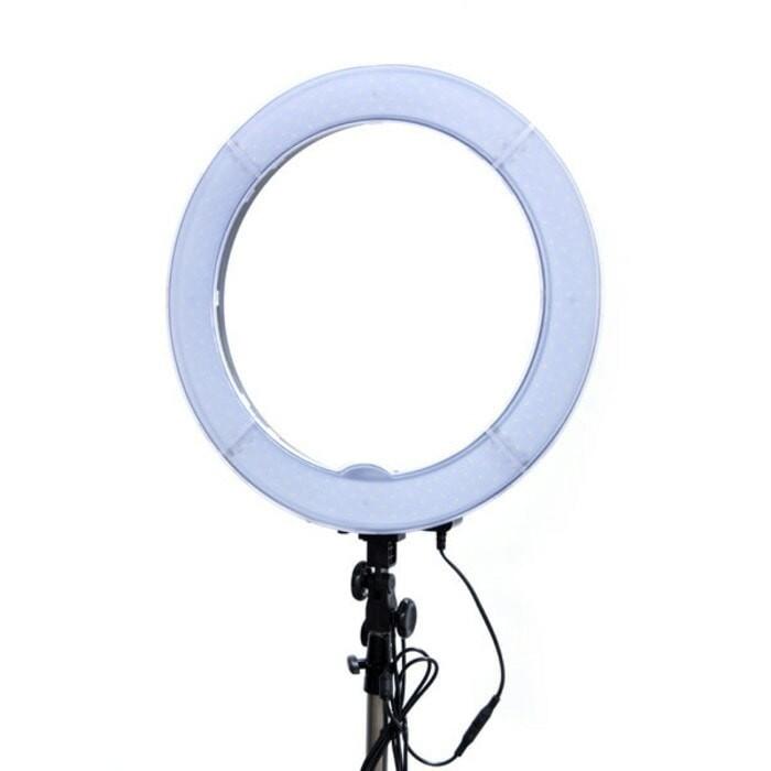 Ringlight ring light selfie beauty makeup lampu led bisa dimmer