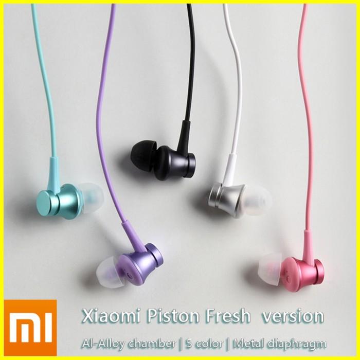 Handsfree Xiaomi Piston 3 Fresh Earphone Earpod Headset Redmi Mi Note